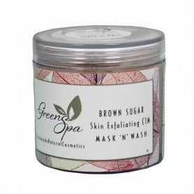 Greenspa Brown Sugar Skin Exfoliating Mask n Wash 100gm