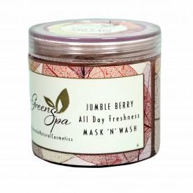 Greenspa Jumble Berry All Day Freshness Mask n Wash 100gm