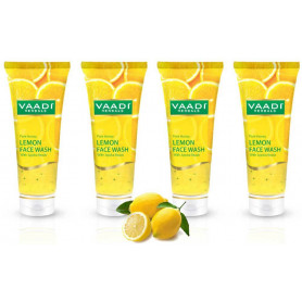 Vaadi Value Pack of HONEY LEMON FACE WASH with Jojoba Beads (60mlx4)