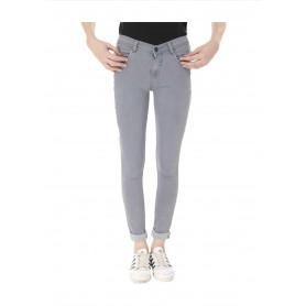 Veravibe Premium Denim Skinny Fit Jeans - Grey