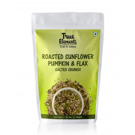 True Elements Roasted Sunflower Seeds Salted Crunch 125gm