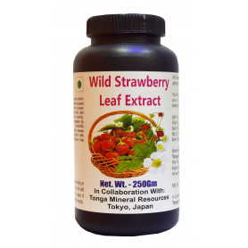 Tonga Herbs Wild Strawberry Leaf Extract Tea - 250 Gm (Buy Any Supplement Get The Same 60ml Drops Free)