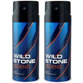 Wild Stone Legend  Body Deodorant 150ml - (Pack OF2)