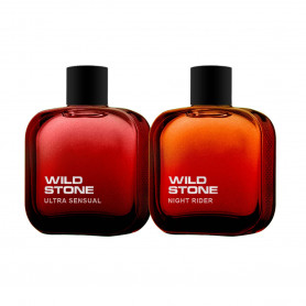 Wild Stone Night Rider And Ultra Sensual Perfumes 50ml Each