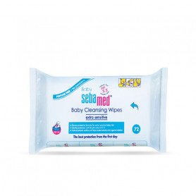 Sebamed Baby Cleansing Wipes (72 Pieces)