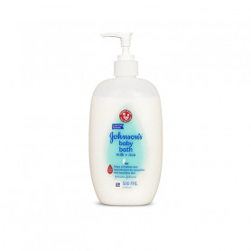 Johnson's Baby Milk & Rice Bath, 500ml