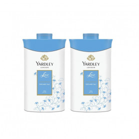 Yardley London Lace Talc 250gm (Pack of 2) For Women