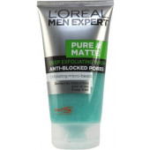 L'Oreal Paris Men Expert Pure & Matte Deep Exfoliating Anti-Blocked Pores Face Wash  (149 ml)