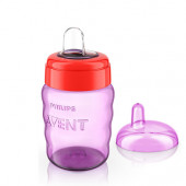 Philips Avent Toddler Spout Cup-260Ml  (Red)