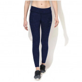 Silvertraq Women's Melange Track Leggings - Navy Black