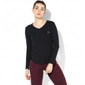 Silvertraq Women's Yoga Modal tee - Black