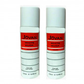 Jovan White Musk Deodorant 200Ml (Pack Of 2)