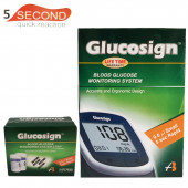Glucosign Blood Gluscose Monitering System & Strip Combo