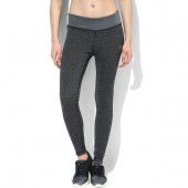 Silvertraq Womens Melange Training Tights - Grey Black