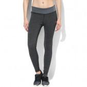 Silvertraq Womens Melange Training Tights - Grey Black