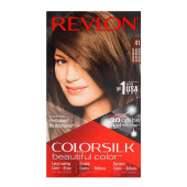 Revlon ColorSilk Beautiful Hair Color No - 41 Medium Brown Usa