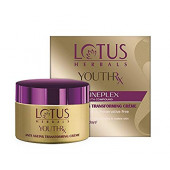 Lotus Herbals YOUTHRx Anti-Ageing Transforming Day Creme SPF-25 PA+++ Preservative Free_50 gm