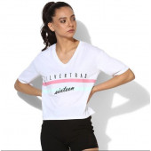 Silvertraq Women's Boxy Tee - White