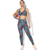 Silvertraq Women's Pop Leggings - Abstract Pop