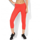 Silvertraq Women's Athletic Capri - Red