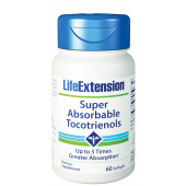 Life Extension Super Absorbable Tocotrienols, 60 softgels