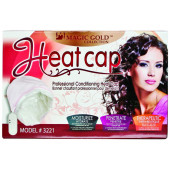 Magic Gold Collection Heat Cap, Moisturizer, moisturize, penetrate, therapeutic, hair won t dry, hair absorbs confitioners better, heat evenly conditions hair