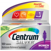 Centrum Silver Women 50+ Multivitamin & Multimineral Supplement Tablets - 100 each