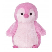Aurora World Destination Nation Pink Penguin Plush, 12""