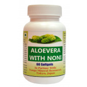 Tonga Herbs Aloe Vera With Noni Softgel - 60 Softgels (Buy Any Supplement Get The Same 60ml Drops Free)