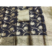 Kota Doria Heavy Bordered Cotton Saree