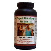 Tonga Herbs Organic Nutricharge For Men Tea - 250 Gm (Buy Any Supplement Get The Same 60ml Drops Free)