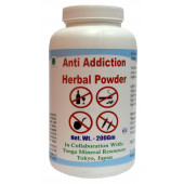 Tonga Herbs Anti Addiction Herbal Powder - 200Gm (Buy Any Supplement Get The Same 60ml drops Free)