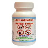 Tonga Herbs Anti Addiction Herbal Softgel - 60 Softgels (Buy Any Supplement Get The Same 60ml Drops Free)