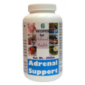 Tonga Herbs Adrenal Support Powder - 200Gm (Buy Any Supplement Get The Same 60ml drops Free)