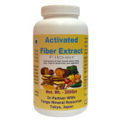 Tonga Herbs Activated Fiber Extract Powder - 200Gm (Buy Any Supplement Get The Same 60ml drops Free)