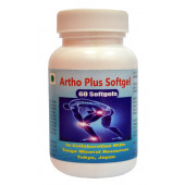 Tonga Herbs Arthro Plus Softgel - 60 Softgels (Buy Any Supplement Get The Same 60ml Drops Free)