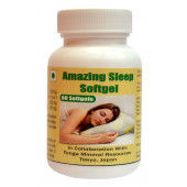 Tonga Herbs Amazing Sleep Softgel  - 60 Softgels (Buy Any Supplement Get The Same 60ml Drops Free)