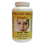 Tonga Herbs Best Anti Aging Complex Powder - 200Gm (Buy Any Supplement Get The Same 60ml drops Free)