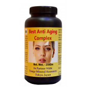 Tonga Herbs Best Anti Aging Complex Tea - 250 Gm (Buy Any Supplement Get The Same 60ml Drops Free)