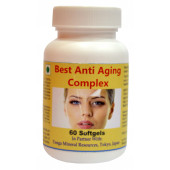 Tonga Herbs Best Anti Aging Complex Softgel - 60 Softgels (Buy Any Supplement Get The Same 60ml Drops Free)