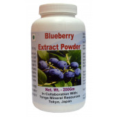 Tonga Herbs Blueberry Extract Powder - 200Gm (Buy Any Supplement Get The Same 60ml drops Free)