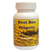Tonga Herbs Best Bee Propolis Softgel - 60 Softgels (Buy Any Supplement Get The Same 60ml Drops Free)