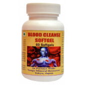 Tonga Herbs Blood Cleanse Softgel - 60 Softgels (Buy Any Supplement Get The Same 60ml Drops Free)
