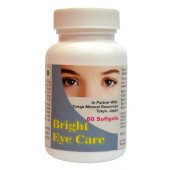Tonga Herbs Bright Eye Care Softgel - 60 Softgels (Buy Any Supplement Get The Same 60ml Drops Free)