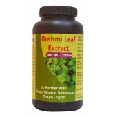 Tonga Herbs Brahmi Leaf Extract Tea - 250 Gm (Buy Any Supplement Get The Same 60ml Drops Free)
