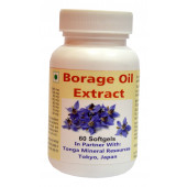 Tonga Herbs Borage Oil Extract Softgel - 60 Softgels (Buy Any Supplement Get The Same 60ml Drops Free)