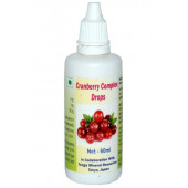 Tonga Herbs Cranberry Complex Drops - 60 ml (Buy Any Supplement Get The Same 60ml drops Free)