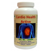 Tonga Herbs Cardio Health Active Powder - 200 Gm (Buy Any Supplement Get The Same 60ml drops Free)
