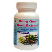 Tonga Herbs Dong Quai Root Extra Softgel - 60 Softgels (Buy Any Supplement Get The Same 60ml Drops Free)