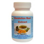 Tonga Herbs Dandelion Root Extract Softgel - 60 Softgels (Buy Any Supplement Get The Same 60ml Drops Free)